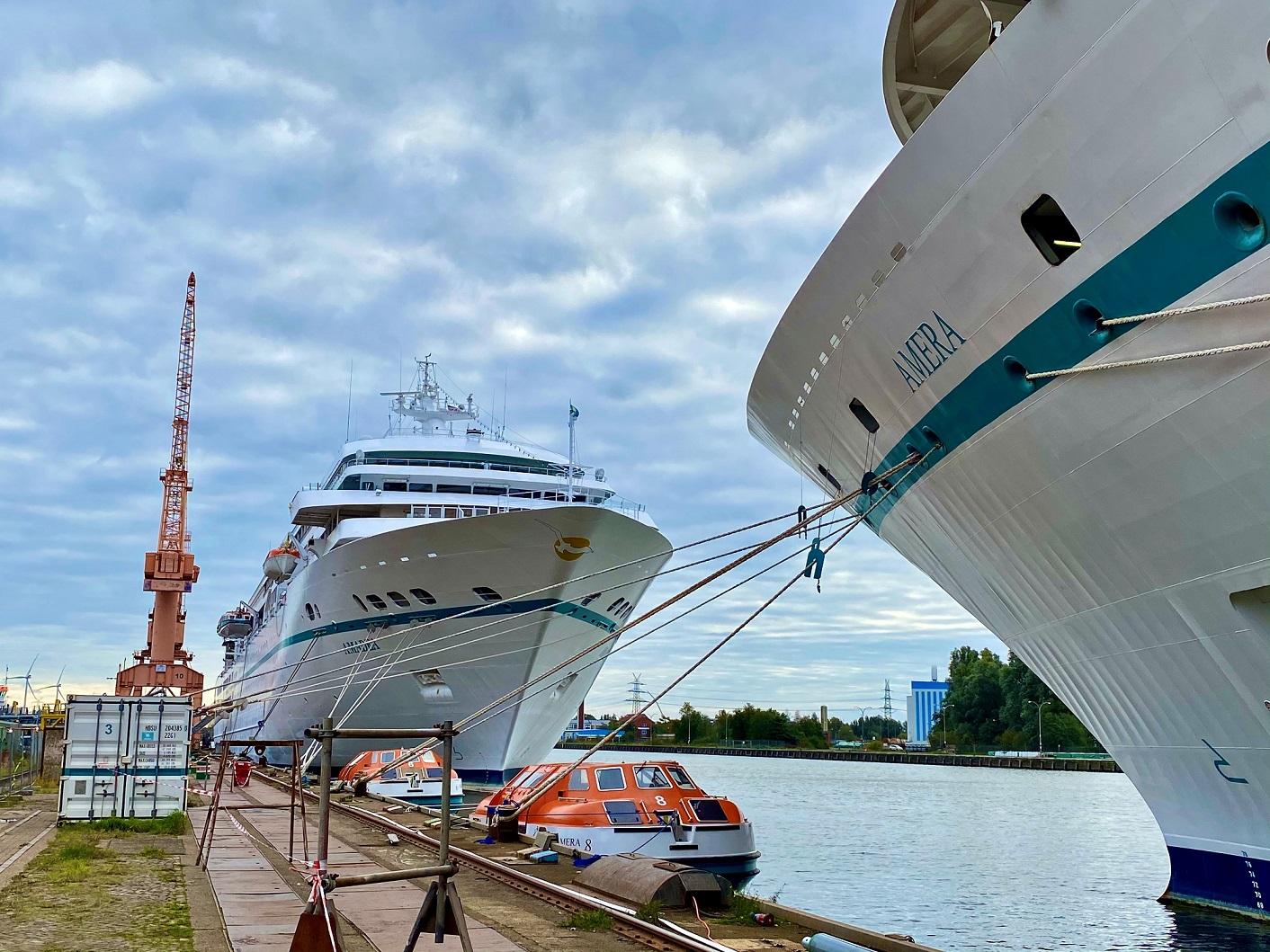 AMADEA und AMERA in Emden. Foto: Christoph Assies