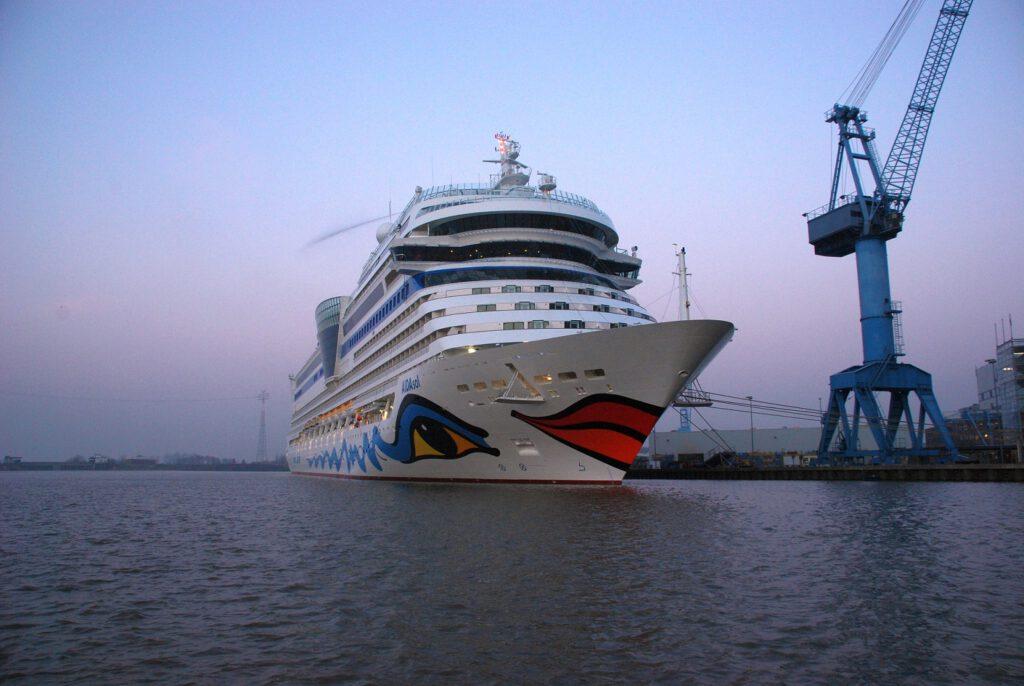 AIDAsol - 2011 auf der Meyer Werft gebaut und Bestandteil der Sphinx-Baureihe. Foto: Christoph Assies