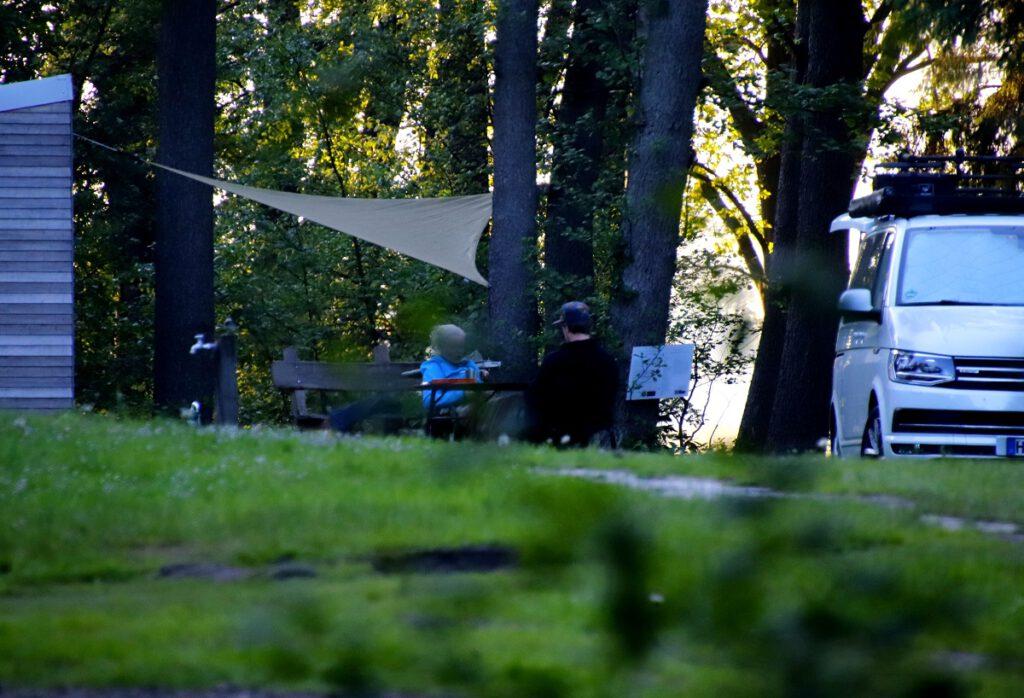 Camping-Romantik